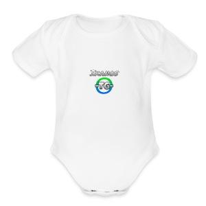 -TG- Ikanos Merch - Short Sleeve Baby Bodysuit