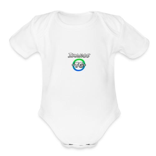 -TG- Ikanos Merch - Organic Short Sleeve Baby Bodysuit