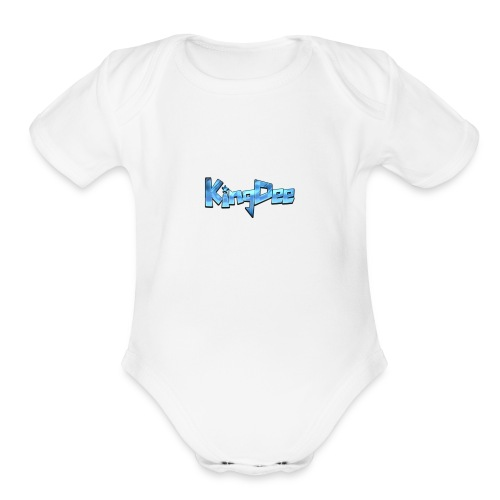 King cloths - Organic Short Sleeve Baby Bodysuit
