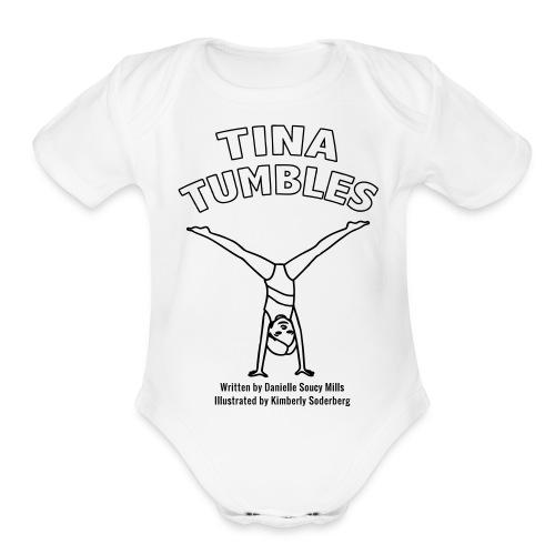 Tina Tumbles - Organic Short Sleeve Baby Bodysuit