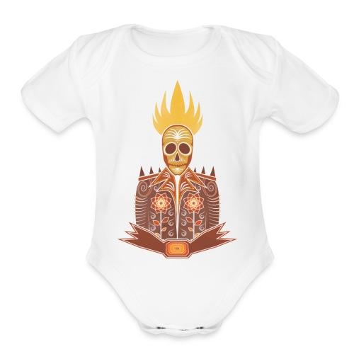 The Rider - Organic Short Sleeve Baby Bodysuit