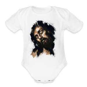 Weight Of The World - Short Sleeve Baby Bodysuit
