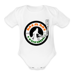 MIAMI LEGENDS GOT VINYL - Short Sleeve Baby Bodysuit