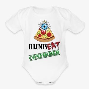 Illuminati / IlluminEAT CONFIRMED! - Short Sleeve Baby Bodysuit