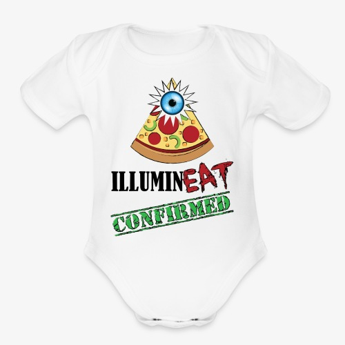 Illuminati / IlluminEAT CONFIRMED! - Organic Short Sleeve Baby Bodysuit