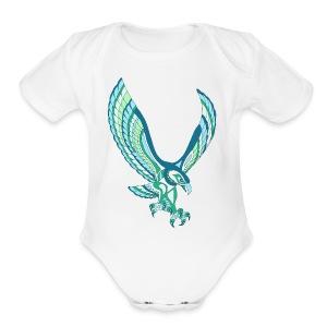 SEAHAWK - Short Sleeve Baby Bodysuit