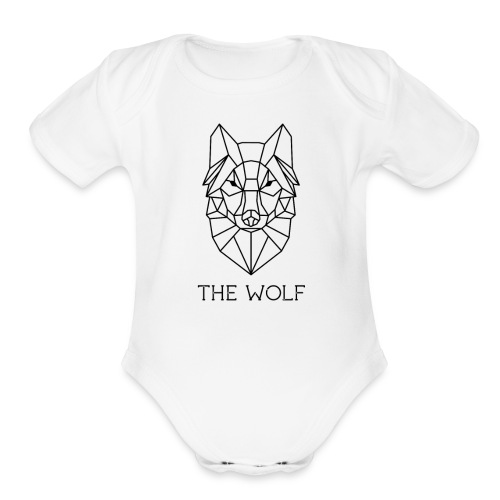 The Wolf - Organic Short Sleeve Baby Bodysuit