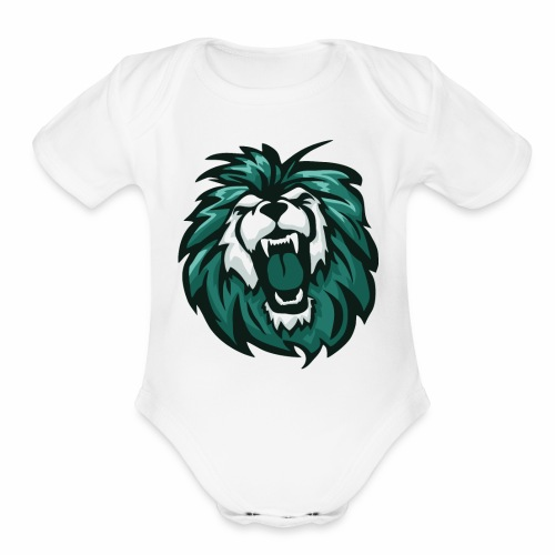 The Green Lion - Organic Short Sleeve Baby Bodysuit