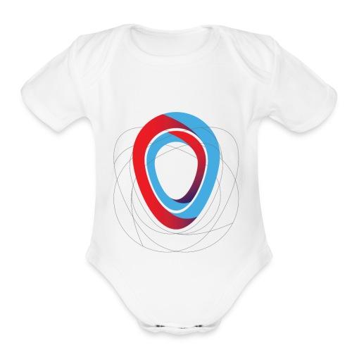 Communicate - Organic Short Sleeve Baby Bodysuit