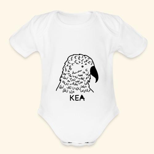 kea - Organic Short Sleeve Baby Bodysuit