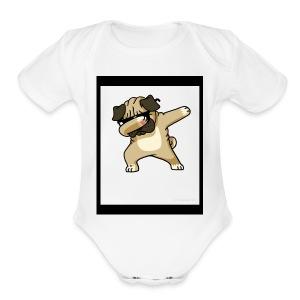 Dab Dog 2018 - Short Sleeve Baby Bodysuit