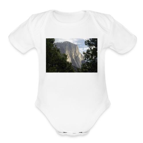 El Capitan - Organic Short Sleeve Baby Bodysuit