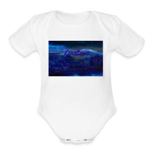 LapisCraft Large Logo - Short Sleeve Baby Bodysuit