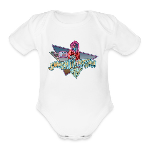 Smash Ventura TV gloss 2 - Organic Short Sleeve Baby Bodysuit