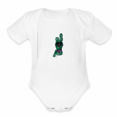 Withered DBB - Organic Short Sleeve Baby Bodysuit