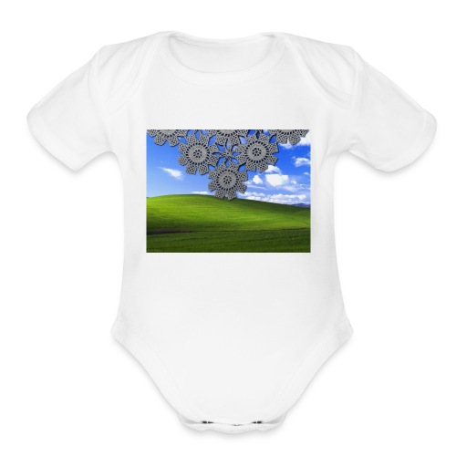 Traditional - Organic Short Sleeve Baby Bodysuit