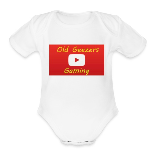 Old Geezers Gaming - Organic Short Sleeve Baby Bodysuit