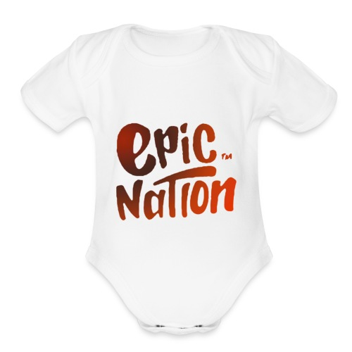 Epic nation Sportsgear - Organic Short Sleeve Baby Bodysuit