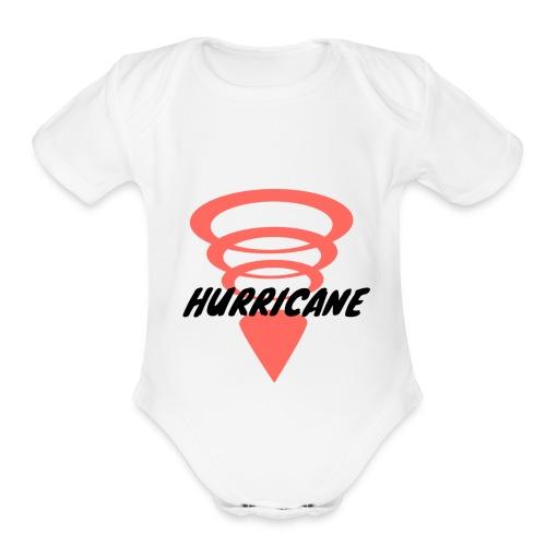 HURRICANE - Organic Short Sleeve Baby Bodysuit