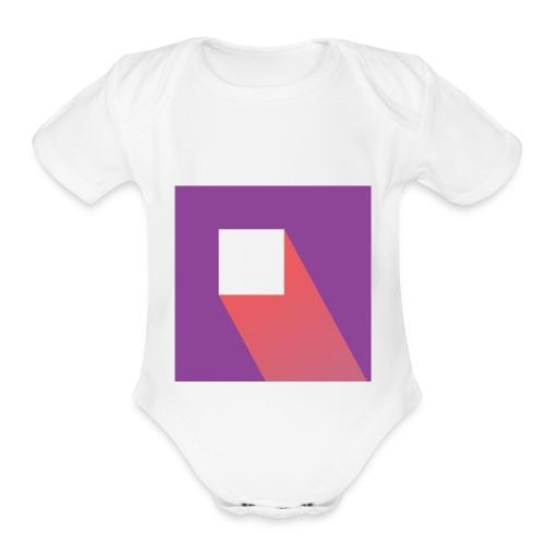 Kmc vlogs - Organic Short Sleeve Baby Bodysuit
