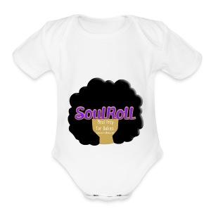 SoulRollBaby - Short Sleeve Baby Bodysuit