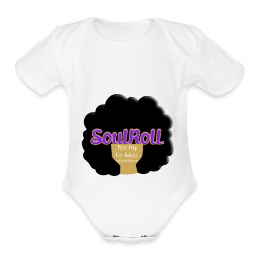 SoulRollBaby - Organic Short Sleeve Baby Bodysuit
