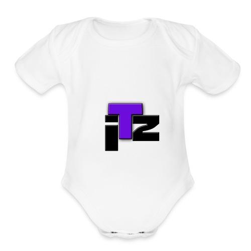 Itz Clan Merch - Organic Short Sleeve Baby Bodysuit