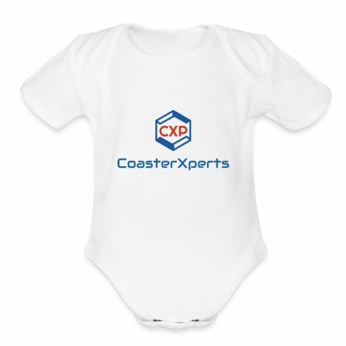 coasterxperts - Organic Short Sleeve Baby Bodysuit
