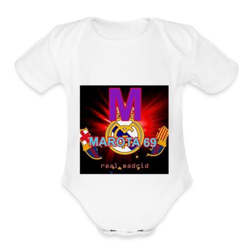 Marota merch - Organic Short Sleeve Baby Bodysuit