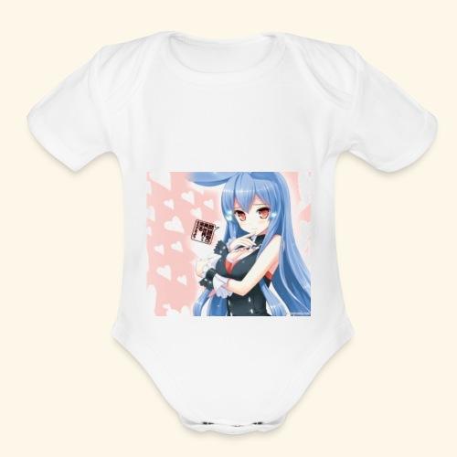 Bunnie squad - Organic Short Sleeve Baby Bodysuit
