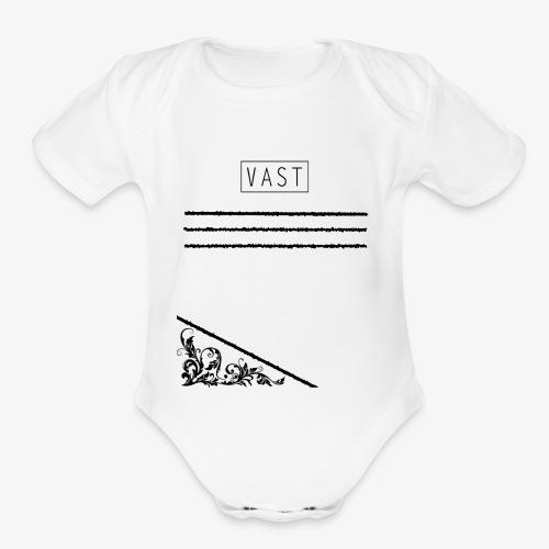 Vintage   Vast Clothing - Multi Designed Shirts+ - Organic Short Sleeve Baby Bodysuit