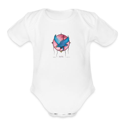 LOGO20M - Organic Short Sleeve Baby Bodysuit