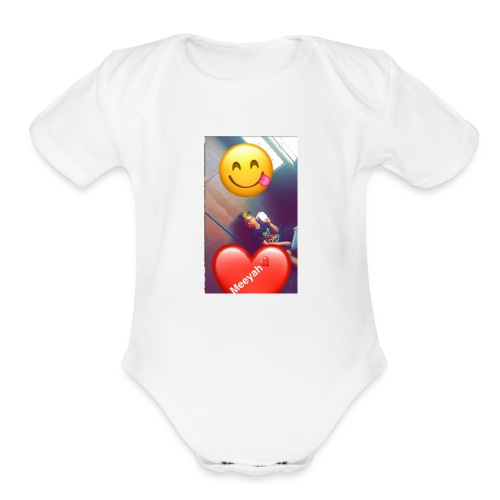 LIFE with Jameeyah - Organic Short Sleeve Baby Bodysuit