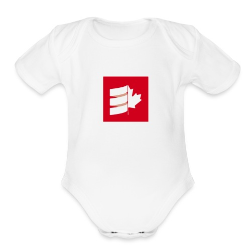 Scala Up North - Organic Short Sleeve Baby Bodysuit