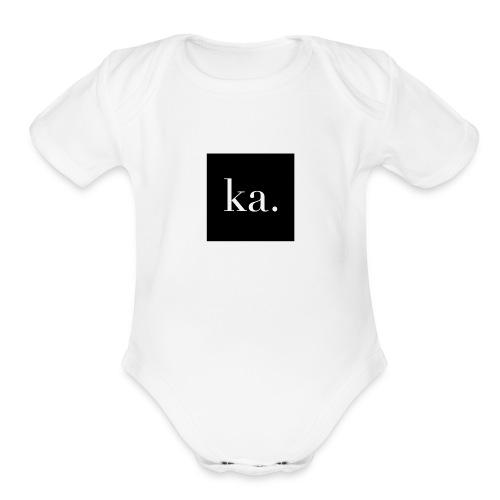 Kailyn Arin - Organic Short Sleeve Baby Bodysuit