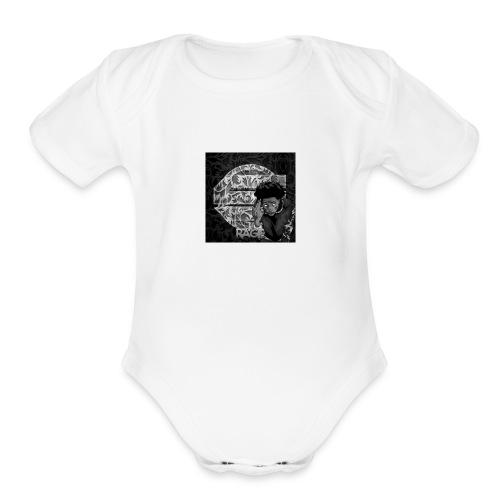 Swarm Rage Merch - Organic Short Sleeve Baby Bodysuit