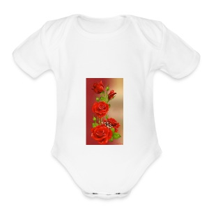 received 894789967306140 - Short Sleeve Baby Bodysuit