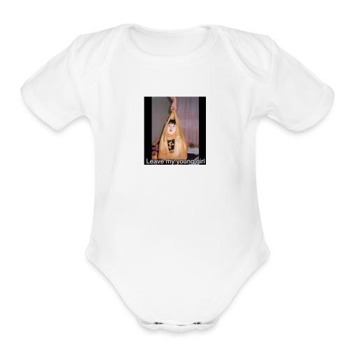 Strict Chinese dad - Organic Short Sleeve Baby Bodysuit