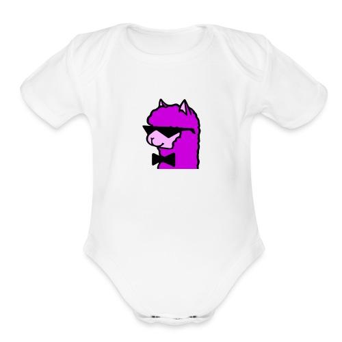 Cool Alpaca - Organic Short Sleeve Baby Bodysuit
