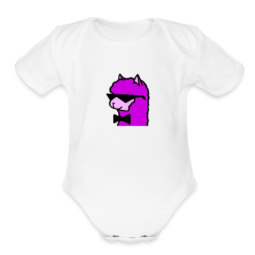 Cool Alpaca - Organic Short Sleeve Baby Bodysuit