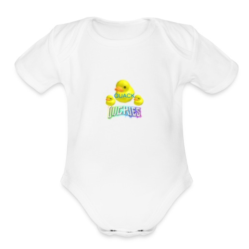 77df6b48af562ce5ea02d6ed38dae4ac - Organic Short Sleeve Baby Bodysuit