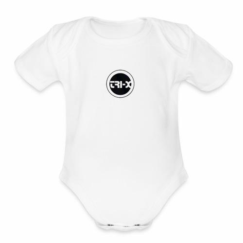 Tri-X - Organic Short Sleeve Baby Bodysuit