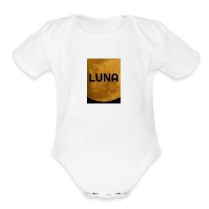 Luna - Short Sleeve Baby Bodysuit