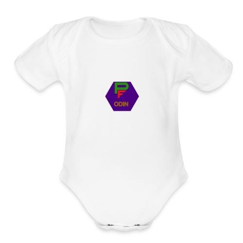 Phantom Odin - Organic Short Sleeve Baby Bodysuit