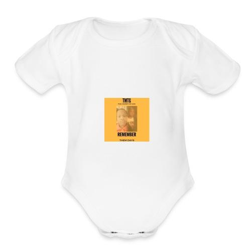 Albulm Cover - Organic Short Sleeve Baby Bodysuit