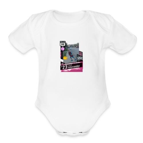 Tyler Deep Shooter - Organic Short Sleeve Baby Bodysuit