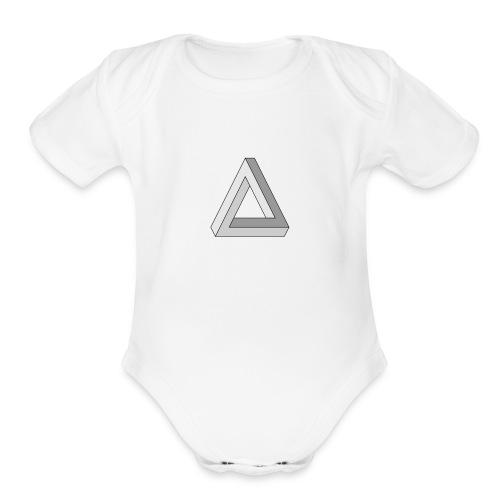 Thomas Morose Logo - Organic Short Sleeve Baby Bodysuit