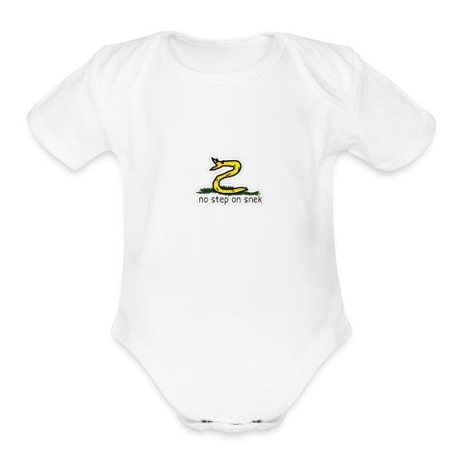 Snek - Organic Short Sleeve Baby Bodysuit