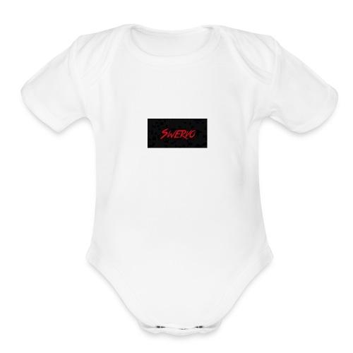 Swervo - Organic Short Sleeve Baby Bodysuit