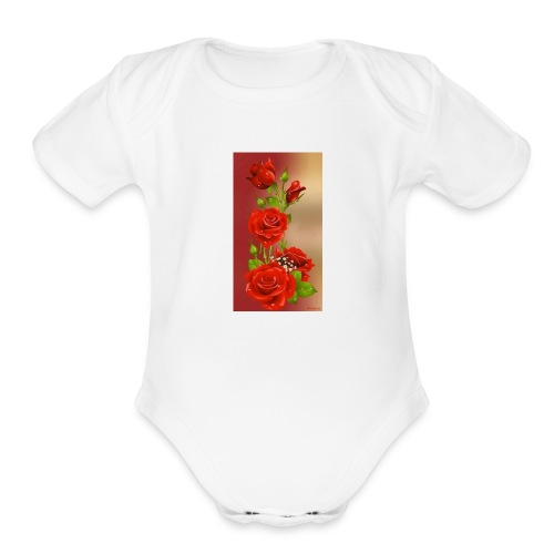 received 894789967306140 - Organic Short Sleeve Baby Bodysuit